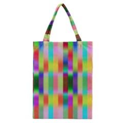 Multicolored Irritation Stripes Classic Tote Bag by designworld65