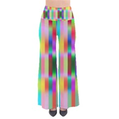 Multicolored Irritation Stripes Pants by designworld65