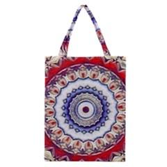 Romantic Dreams Mandala Classic Tote Bag by designworld65