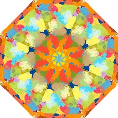 Summer Feeling Splash Hook Handle Umbrellas (large) by designworld65