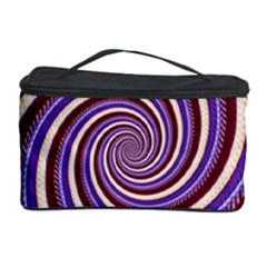 Woven Spiral Cosmetic Storage Case by designworld65