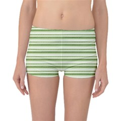 Spring Stripes Boyleg Bikini Bottoms by designworld65