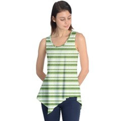 Spring Stripes Sleeveless Tunic by designworld65