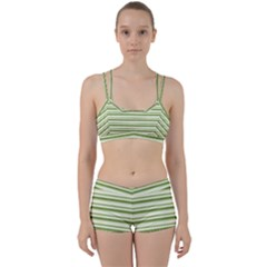 Spring Stripes Women s Sports Set by designworld65