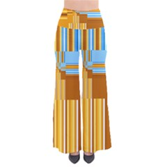 Endless Window Blue Gold Pants by designworld65