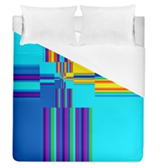 Colorful Endless Window Duvet Cover (queen Size) by designworld65
