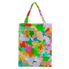 Colorful Summer Splash Classic Tote Bag by designworld65
