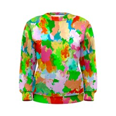 Colorful Summer Splash Women s Sweatshirt by designworld65