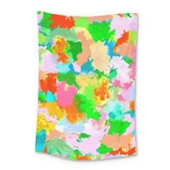 Colorful Summer Splash Small Tapestry by designworld65