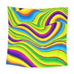 Summer Wave Colors Square Tapestry (large) by designworld65
