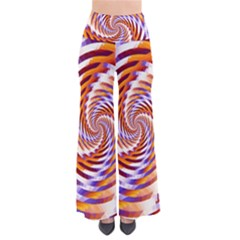 Woven Colorful Waves Pants by designworld65
