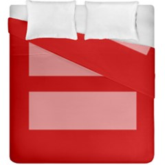 Marriage Equality Duvet Cover Double Side (king Size) by TailWags