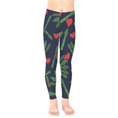 Asparagus Lover Kids  Legging by BubbSnugg