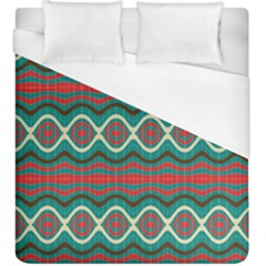 Ethnic Geometric Pattern Duvet Cover (king Size) by linceazul