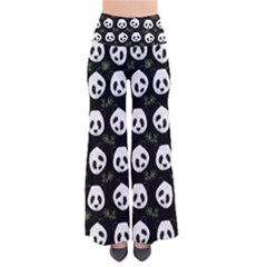 Panda Pattern Pants by Valentinaart