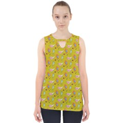 Fat Cat Cut Out Tank Top