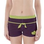burgundybottom - Boyleg Bikini Wrap Bottoms