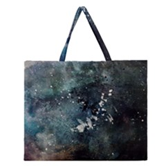 Grunge 1680x1050 Abstract Wallpaper Resize Zipper Large Tote Bag by amphoto