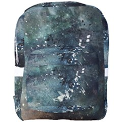 Grunge 1680x1050 Abstract Wallpaper Resize Full Print Backpack by amphoto