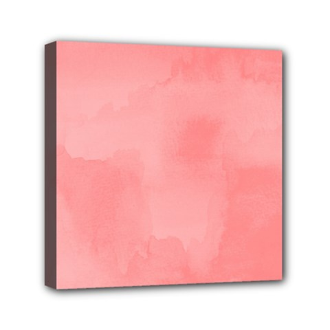 Ombre Mini Canvas 6  X 6  by ValentinaDesign