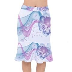Wave Mermaid Skirt by amphoto
