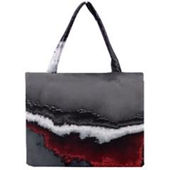 Ombre Mini Tote Bag by ValentinaDesign