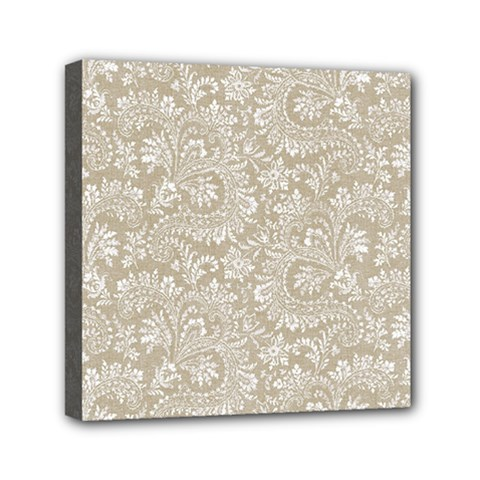 Floral Pattern Mini Canvas 6  X 6  by ValentinaDesign