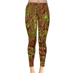 Modern Abstract 45c Leggings  by MoreColorsinLife