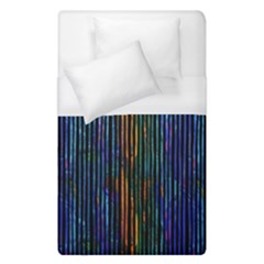 Stylish Colorful Strips Duvet Cover (single Size) by gatterwe