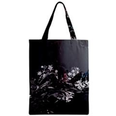 Shape Pattern Light Color Line  Zipper Classic Tote Bag by amphoto