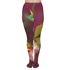 Drawing Abstract Ball Women s Tights by amphoto