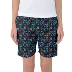 Color Pattern Surface Texture 69666 3840x2400 Women s Basketball Shorts by amphoto