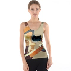 Dr Hooves Stream Tank Top by amphoto