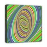 Ellipse Background Elliptical Mini Canvas 8  x 8