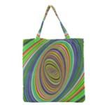 Ellipse Background Elliptical Grocery Tote Bag