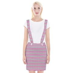 Pink Donuts Braces Suspender Skirt by SpookySugar