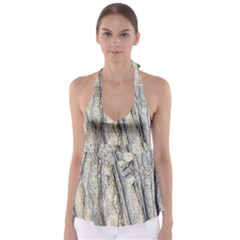 Texture Structure Marble Surface Background Babydoll Tankini Top