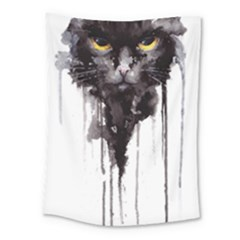 Angry Cat T Shirt Medium Tapestry by AmeeaDesign