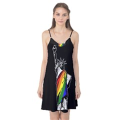 Pride Statue Of Liberty  Camis Nightgown by Valentinaart