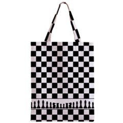 Chess  Zipper Classic Tote Bag by Valentinaart