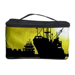 Open Sea Cosmetic Storage Case by Valentinaart