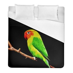 Parrot  Duvet Cover (full/ Double Size) by Valentinaart