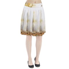 Patterns Nature Style  Pleated Skirt by amphoto