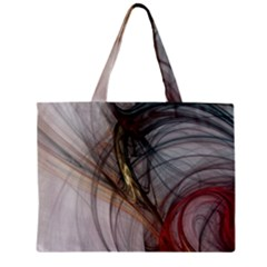Plexus Web Light  Zipper Mini Tote Bag by amphoto