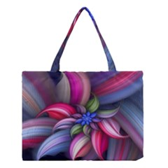 Flower Rotation Form  Medium Tote Bag by amphoto