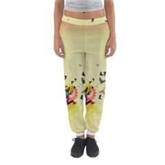 2398 Flight Sky Butterflies 3840x2400 Women s Jogger Sweatpants by amphoto
