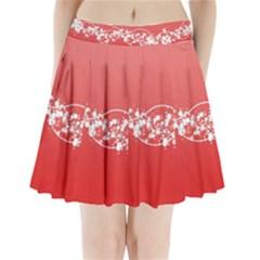 2348 Plexus Point Shine 3840x2400 Pleated Mini Skirt by amphoto
