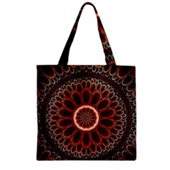 2240 Circles Patterns Backgrounds 3840x2400 Zipper Grocery Tote Bag by amphoto