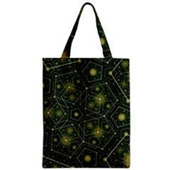 Shape Surface Patterns  Zipper Classic Tote Bag by amphoto