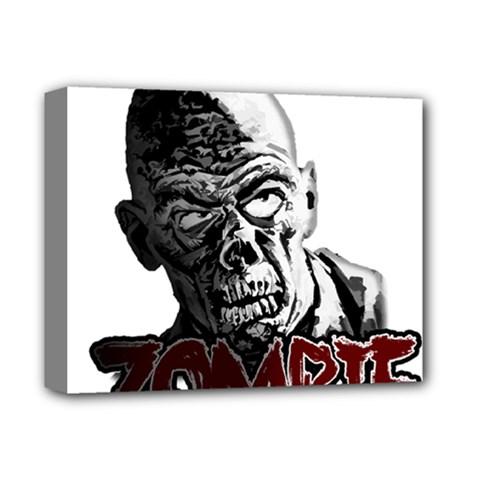 Zombie Deluxe Canvas 14  X 11  by Valentinaart
